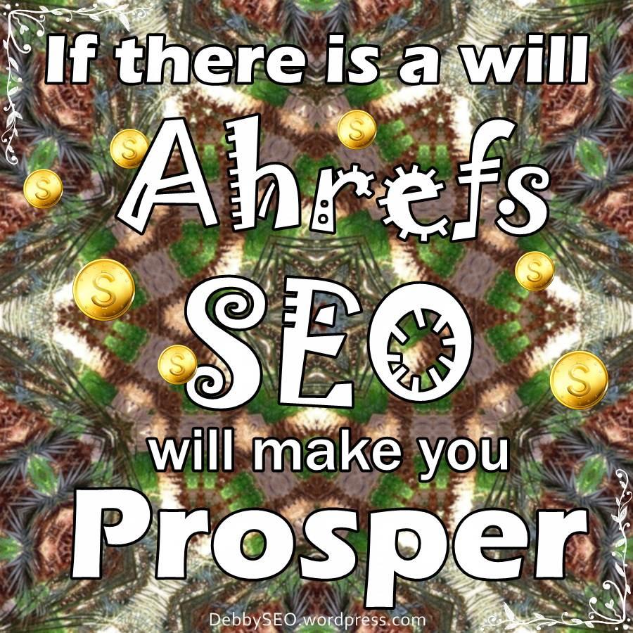 Ahrefs SEO is big business!
