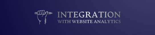 You can use SEO software to integrate with website analytics code