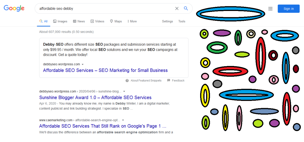 Google Snippet for Debby-SEO affordable SEO