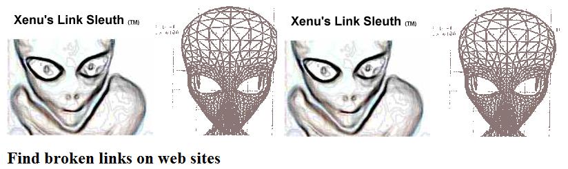 Xenu's Free SEO backlink checker